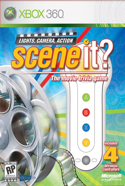 Scene It Lights, Camera, Action (Xbox 360)